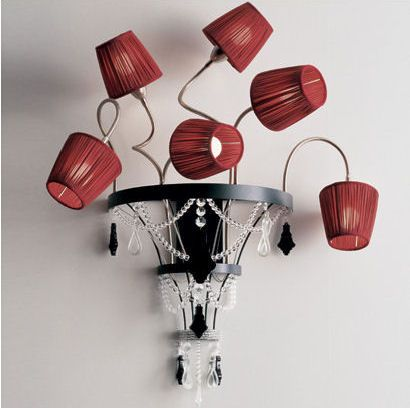 56 best chandelier lampshades images on pinterest chandeliers glass ball chandeliers wonderfully magical lighting by bocci aloadofball Image collections