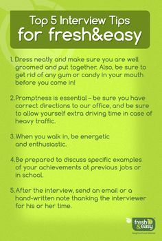Interview Tips On Pinterest | Interview, Job Interviews And .