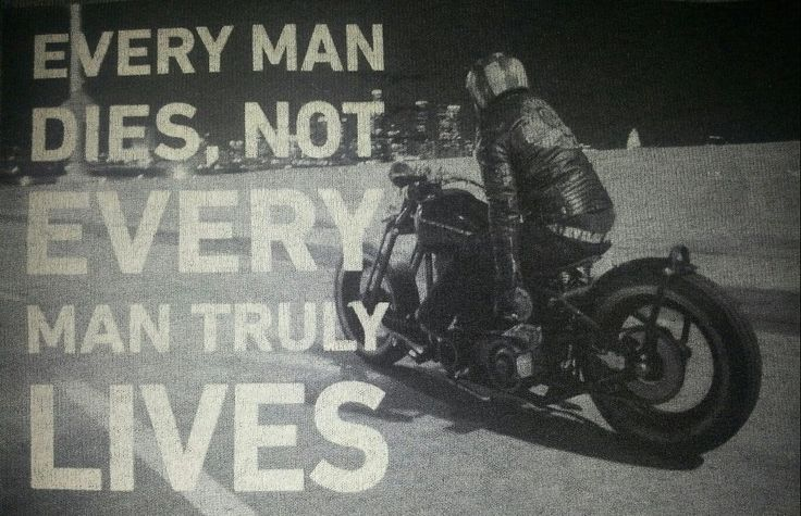LIVING LIFE ON A MOTORCYCLE | Sayings and Things ...