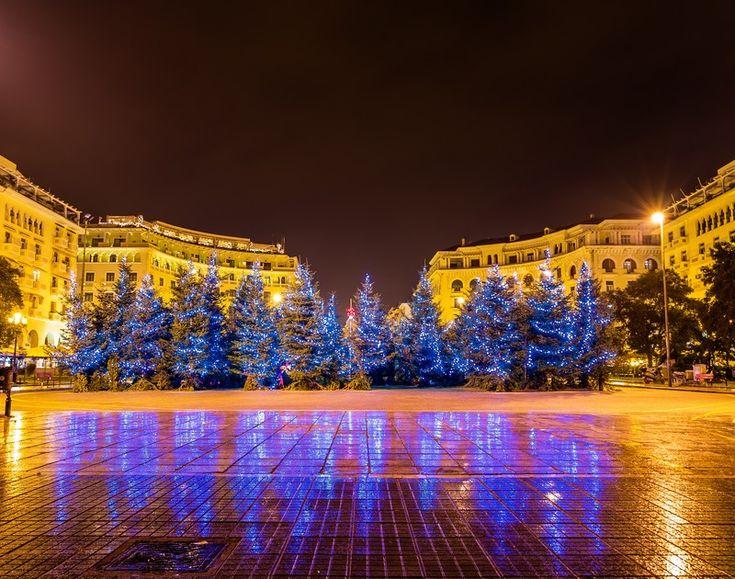 Θεσσαλονίκη: Στο πνεύμα τον γιορτών