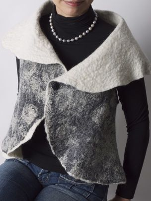.Boiled wool sweater