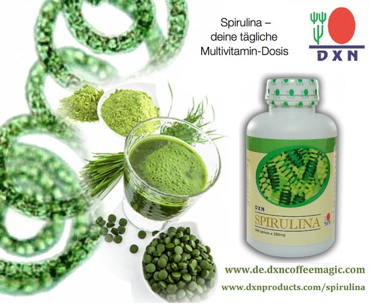 The Queen of Herbs: Spirulina http://dxnproducts.com/spirulina