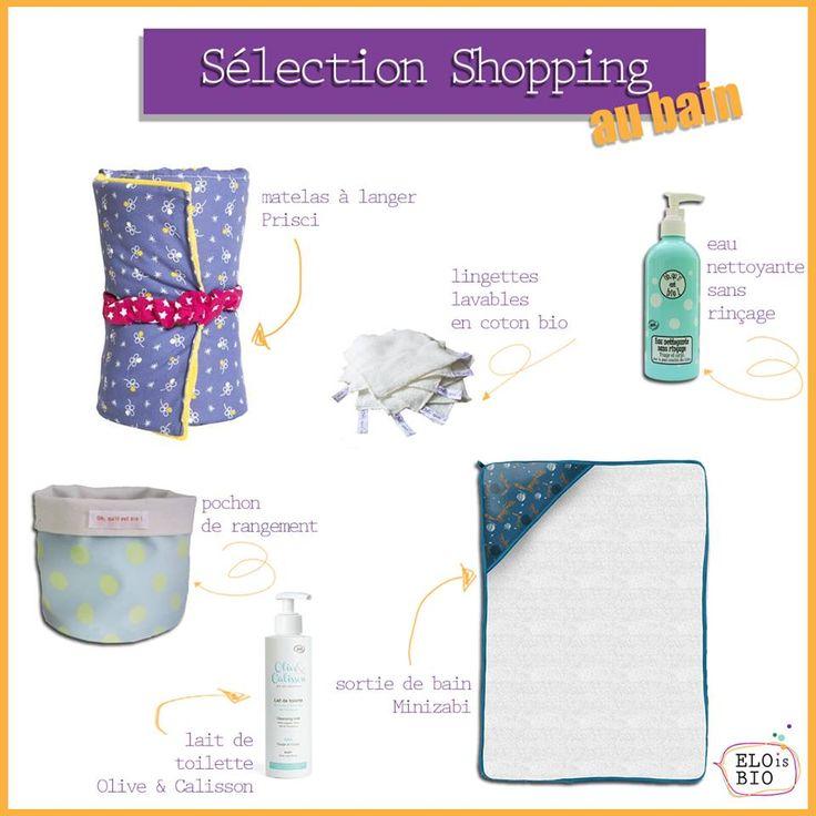 """Sélection Shopping """"Au bain"""""""