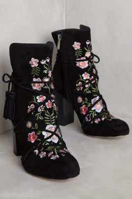 Sam Edelman Winnie Ankle Boots Black 8 Boots