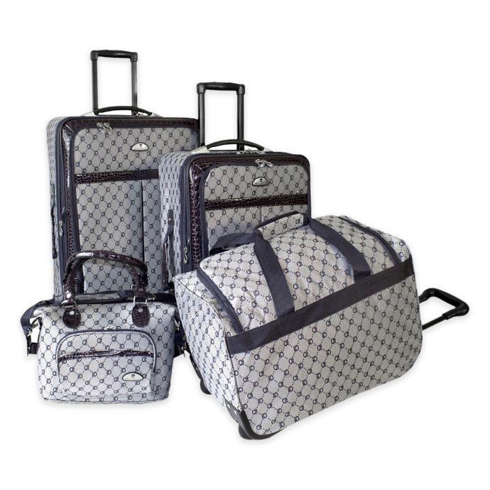 American Flyer 4 Piece Luggage Set Luggage Sets Luggage