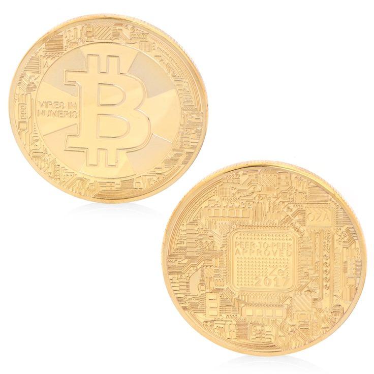 Bitcoin Pièces Commémoratives Plaqué Bitcoin BTC Monnaie de Collection Cadeau Art Collection Souvenir Physique