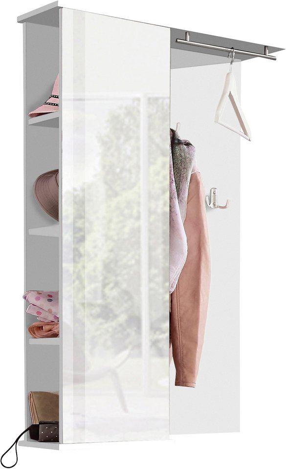 Garderobenpaneel, Schildmeyer, »Dorina« mit Spiegel
