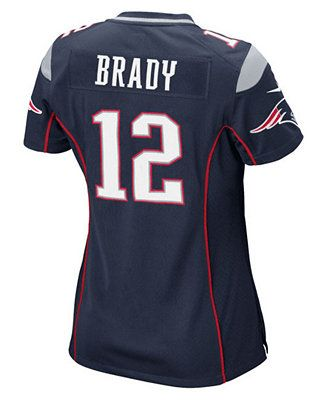 Nike Women's Tom Brady New England Patriots Game Jersey (Superbowl XLIX)
