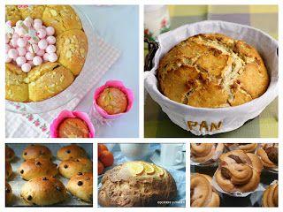 Panes dulces para desayunar o merendar