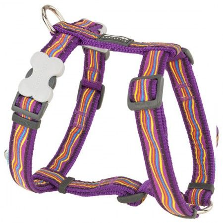 Red Dingo Dreamstream Purple Medium Dog Harness - Red Dingo dog harness Red Dingo dog harness Medium - globaldogshop.com