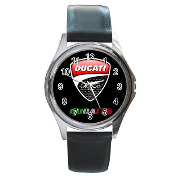 New Leather band Ducati Italia Corse Round Metal by isaaturbrian