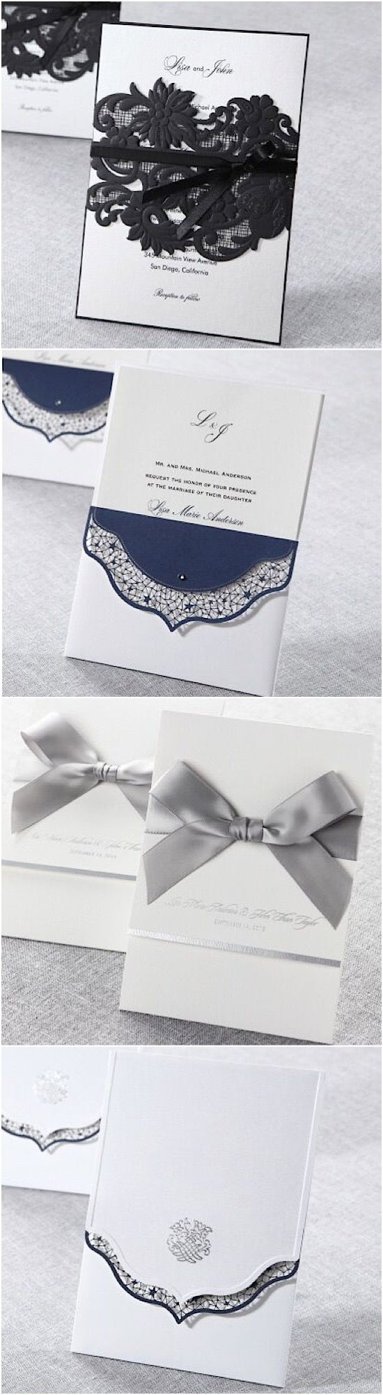 26 Best Affordable And Elegant Wedding Invitations Images On