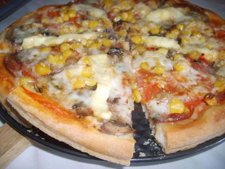 Hrnčeková pizza