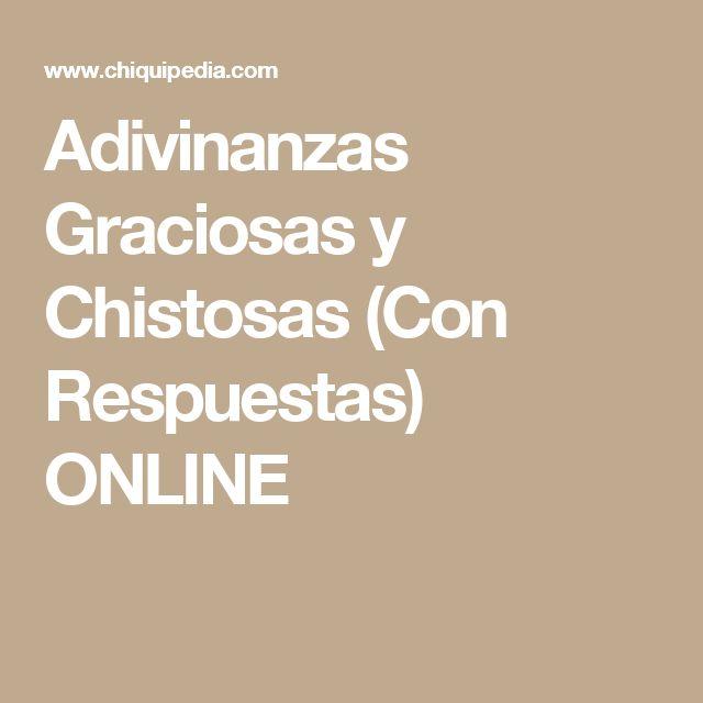 Adivinanzas Graciosas y Chistosas (Con Respuestas) ONLINE
