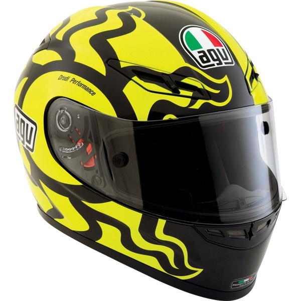 AGV Valentino Rossi Winter Test Replica Helmet