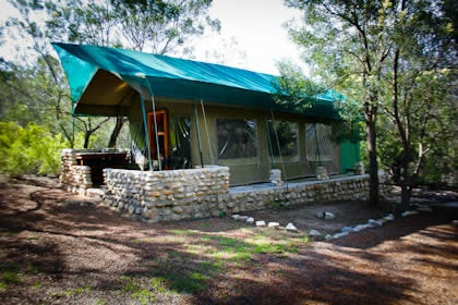 Tented Family Unit - Accommodation - Montagu Guano Cave