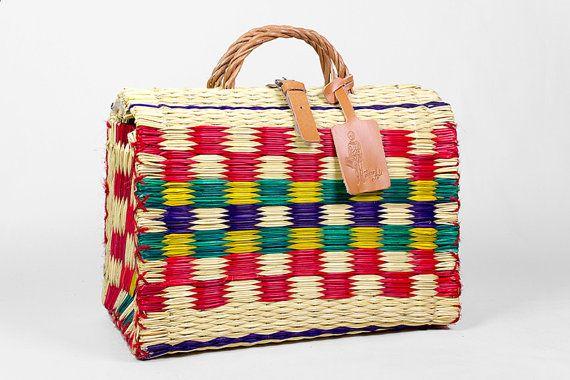 Cesta Traditional Portuguesa. N.º 2 portuguese reed basket
