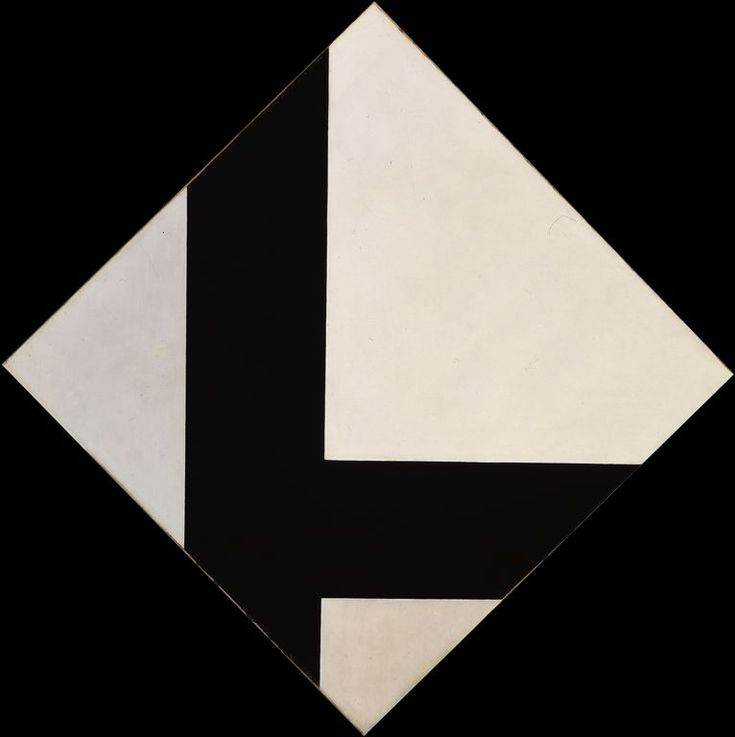 """Counter-Composition VIII"" by Theo van Doesburg"