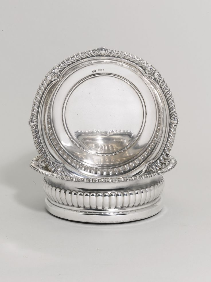 A Pair Of George Iv Silver Wine