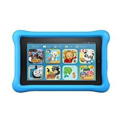 "Fire Kids Edition Tablet, 7"" Display, Wi-Fi, 16 GB, with Kid-Proof Case $74.99 (Was $99) - Bargain Hunting Moms"