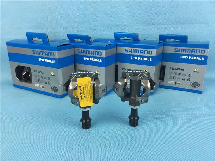 SHIMANO PD-M540 SPD pedals mountain bicycle self-locking pedals mtb bike pedal free ship cheap cycling pedal