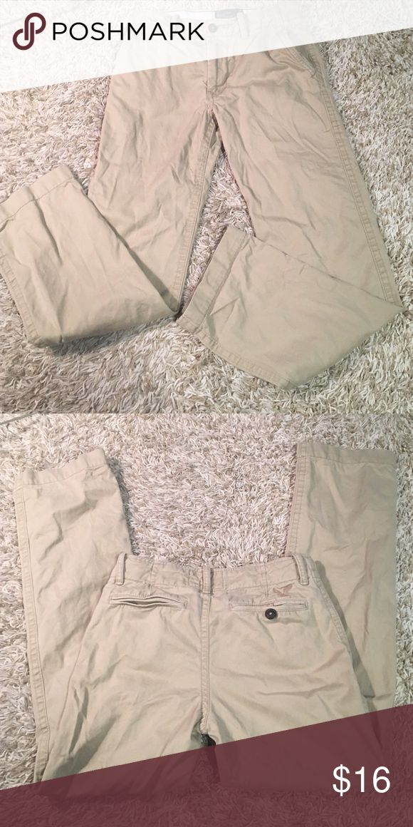 American eagle men's  khaki pants AE men's khakis. 30x34 American Eagle Outfitters Pants Chinos & Khakis