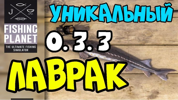 Fishing Planet Лаврак 0.3.3 | Уникальный  Лаврак | Мичиган, озеро Сент-К...