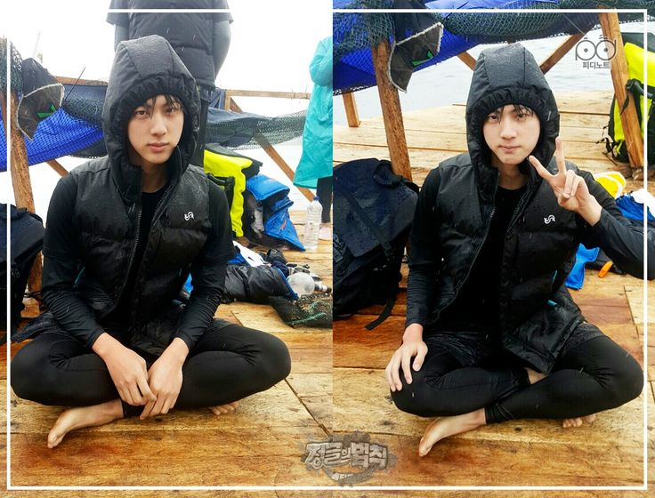 Jin ❤ 'Law of The Jungle' in Kota Manado PD NOTE Photos #BTS #방탄소년단