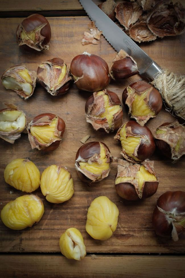 How to roast chestnuts (and how to tell which ones are right for roasting vs. boiling!)