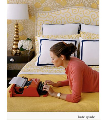 Contemporary Kate Spade Ad Bedroom Girls Rooms