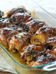 """""""SUNDAY SUPPER"""" FALL OFF THE BONE CHICKEN THIGHS - low carb"""