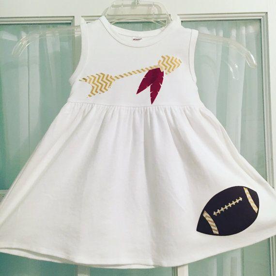 Fsu Gameday Dress Sleeveless Dress Infant & by LucysLittleCouture