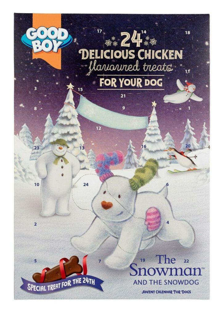 Good Boy The Snowman & The Snowdog Advent Calendar Dog
