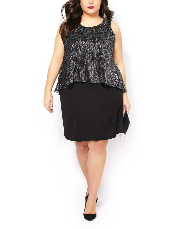 Plus size clothing dress for success