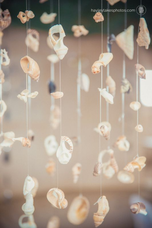 seaside wedding decor