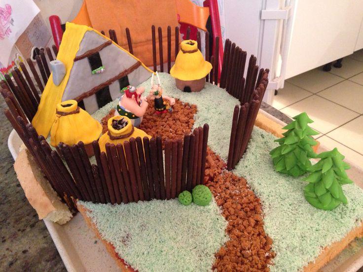 Gâteau: Astérix et Obélix
