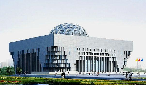 Музей провинции Шаньдун, Цзинань  Музей находится в городе Цзинань и является главным музеем провинции Шаньдун. Его предшественником был музей Уайду, который был создан баптистским миссионером Джоном Сазерлендом Уайтрайтом в городе Цинчёоу в 1887 году.  Переехал в Цзинань он только 1904 году и был переименован в Гуанджи Юань. В 1942 году музеем занялось Общество Красной Свастики, которое и занималось добавлением экспонатов. В 1991 году началось строительство новой части музея в южной части…