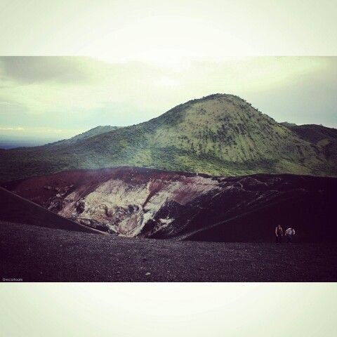 Nicaragua volcan cerro negro. ©jimrosemberg