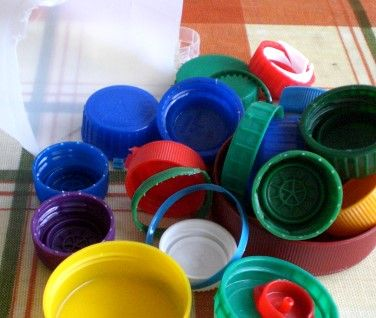 Plastic Moulding - Using Recycled Bottle Tops
