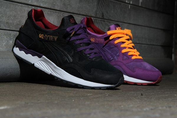 asics gel lyte 5 black sunset