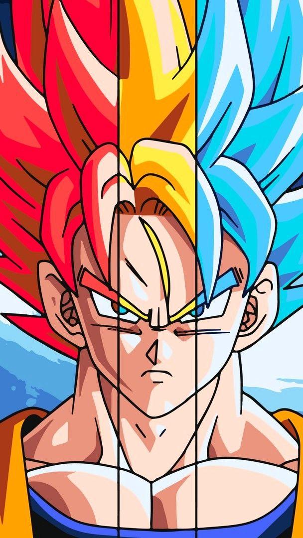 Son Goku Iphone Wallpaper Dragon Ball Gt Desenhos Dragonball