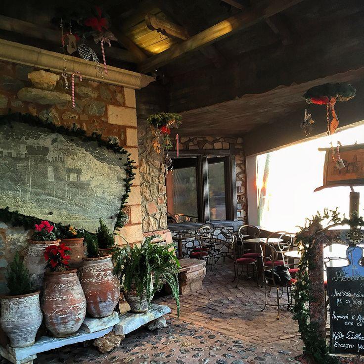 Christmas mood. .... Meteoro entrance !!