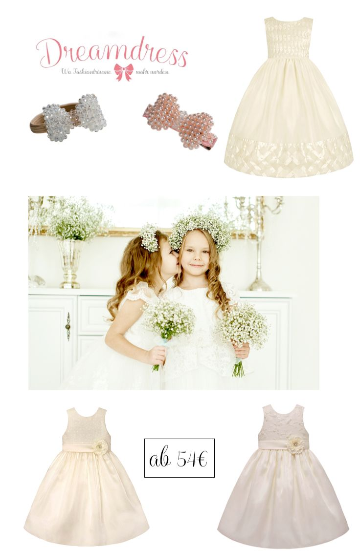Adorable Flowergirl dresses from the princess Collection Couture! Shop online at : dreamdress.at! #flowergirl, #bridal, #newYorkgirlsfashion, #LittleDiva, #LittleFashionista, #eventress, #partydress, #girlsfashion