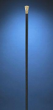 Antique Canes, Antique Gold Handled Walking Stick, Proctor D. Patrick Cane ~ M.S. Rau Antiques
