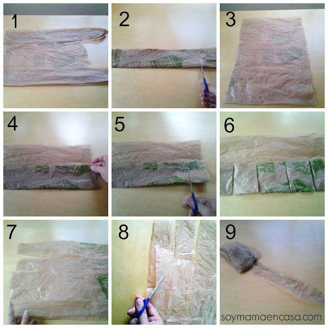 cmo reciclar bolsas de plastico comenzamos mostrando el paso a paso con fotos y video