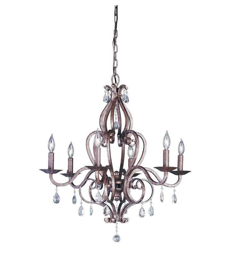 chandelier bronze chandeliers ceiling glass kalco product seeded with inch hierloom in grayson side heirloom crystals without light lighting