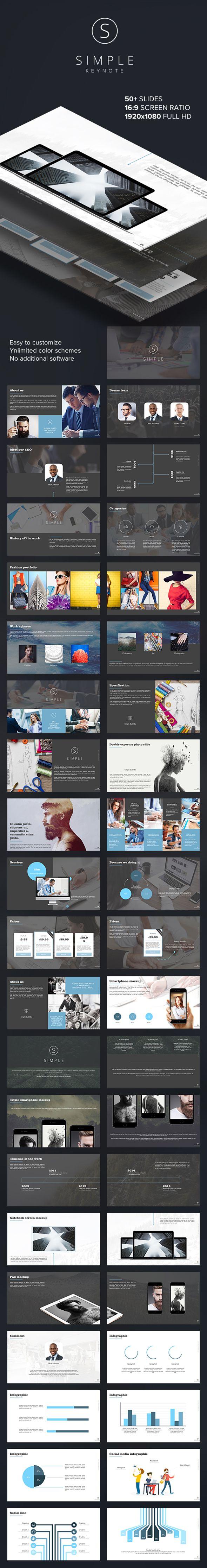 SIMPLE Keynote Template. Download here: http://graphicriver.net/item/simple-keynote-template/15802459?ref=ksioks