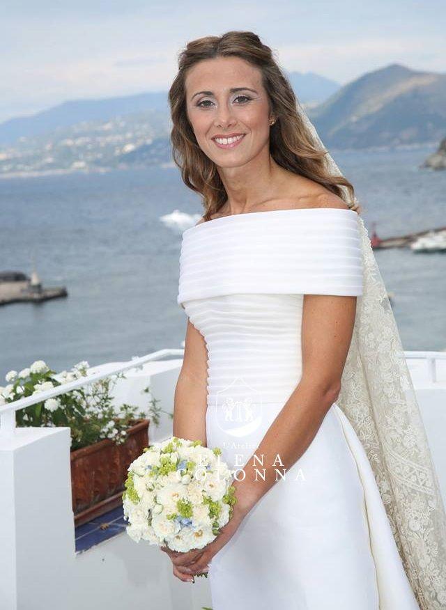 Abiti sposa alta moda. Il favolosi anni '60 per un mitico matrimonio a Capri.   Elena Colonna Atelier