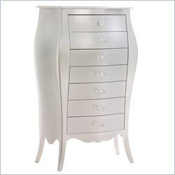 Natart Alexa Lingerie Chest in Silver