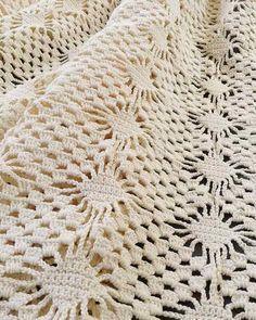 Maggie's Crochet · Spider Lace Bedspread Crochet Pattern